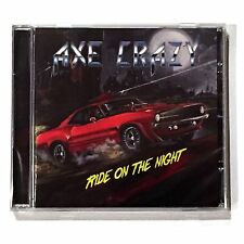 AXE CRAZY - RIDE ON THE NIGHT, CD NO REMORSE 2017 IRON MAIDEN DIO NEW SEALED