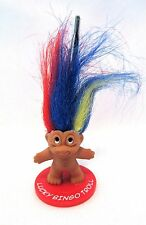 Bingo Admission Ticket Holder Lucky Bingo Troll Charm Doll Collectible