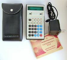 Rare Soviet Russian programmable pocket calculator Elektronika B3-34 USSR (1984)