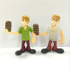 Hot 2pcs Scooby Doo Morphing Monsters Shaggy 2.5in. Figure Baby Boy Toy Doll