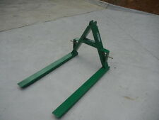 HAYES 3 POINT LINKAGE TRACTOR PALLET FORK RATED 1000KG (3PL)