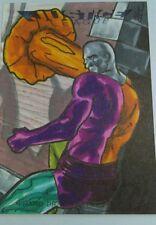 DC JLA Justice League  sketch card Adam Cleveland metamorpho