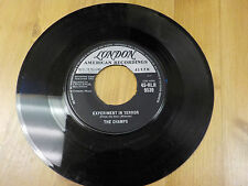 """HLH-9539 1962 UK 7"""" 45RPM THE CHAMPS """"EXPERIMENT IN TERROR"""" VG-EX"""