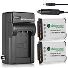 2x 1600mAh NP-BX1 NPBX1 Battery + Charger for Sony Cyber-Shot DSC-RX100 HDR-AS15