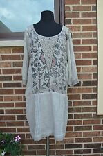 ANGELS NEVER DIE WOMEN TUNIC DRESS SIZE US L NEW/WTAGS