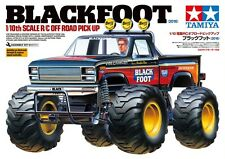 Tamiya 58633 1/10 Scale EP RC Off-Road Pick Up Truck Blackfoot 2016 Kit w/ESC