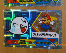 SUPER MARIO WORLD BANPRESTO CARDDASS CARD PRISM CARTE N° 19 NITENDO JAP 1992 **