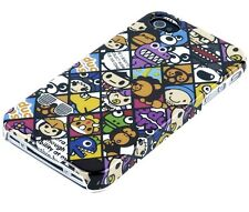 Hülle f iPhone 4S 4 4G Schutzhülle Tasche Case Hard Cover Bumper Comic Emoticons