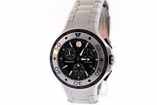 Men's Movado 2600018 Series 800 Stainless Steel Black Dial Chronograph Watch