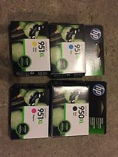 Set of 4--HP 950XL Black,HP951XL Cyan,HP951XL Magenta, HP951XL Yellow