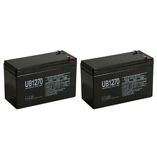 UPG 12V 7AH UPS Battery Replaces Vision CP1270 CP 1270 MK ES7-12 - 2 Pack