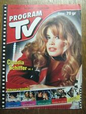 PROGRAM TV 30 (24/7/98) CLAUDIA SCHIFFER JUDITH LEIGHT