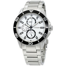 Citizen Eco Drive Silver Dial Chronograph Men's Watch AP403057A