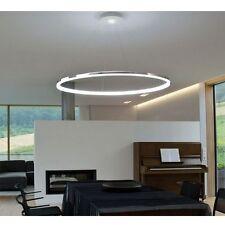 Modern LED Round Acrylic Pendant Lamp Ring Ceiling Light Lighting Chandelier US