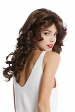 perruque Pour Femme Star Diva Braun lang ondulé volumineux perruque