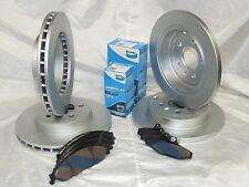 BENDIX BRAKE PADS GCT FRONT & REAR + DISC BRAKE ROTORS FORD FALCON BA BF FG