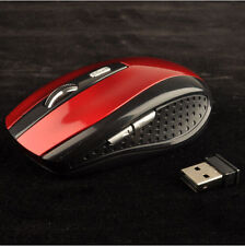 2.4GHz Mice PC Computer for Optical Mouse USB Receiver Cordless Wireless Laptop