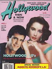 OCT 1990 HOLLYWOOD STUDIO vintage movie magazine LIZ TAYLOR
