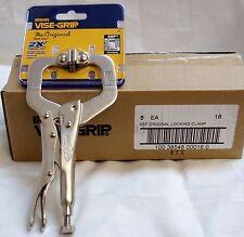 """(5-pack) Irwin Model 18 Vise-Grip 6SP  6"""" Original Locking C-Clamps"""