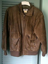 American Line Women's Bomber Jacket Size Medium- Brown