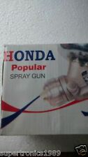 Honda Paint Spray Gun. Used with air compressor 1/2 Pint Paint Gun Spray