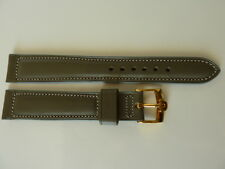 Classic Omega gray color Men's watch strap 18mm NEW OLD STOCK