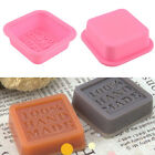 Silicone Cake Chocolate Tray 100% Handmade Soap Mold Sugercraft Craft