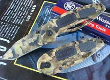 SMITH & WESSON SW53BT MILITARY CAMOUFLAGE VERSION FOLDING KNIFE