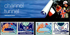 ROYAL MAIL MINT STAMPS CHANNEL TUNNEL 1994 PRESENTATION PACK NEVER USED #247