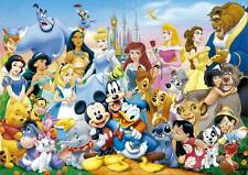 EDUCA JIGSAW PUZZLE THE WONDERFUL WORLD OF DISNEY 1000 PCS #11978