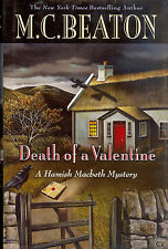 Death of a Valentine by M. C. Beaton - First Print First Edition Hardcover - New