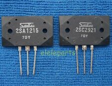 5pair(10pcs) of 2SA1215 & 2SC2921 SANKEN Audio GP Transistor