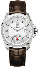 TAG HEUER GRAND CARRERA WAV511B.FC6230 AUTOMATIC MENS BROWN LEATHER SWISS WATCH