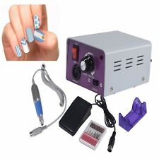 New Electric Pro Nail File Acrylic Pedicure Drill Sand Machine Kit Set Salon