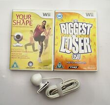 YOUR SHAPE AND CAMERA AND THE BIGGEST LOSER WII PAL