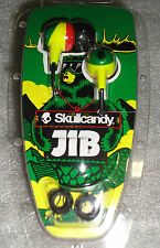 Skullcandy Jib Earbud In-ear Stereo Headphones Rasta - NIP