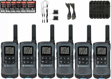 Motorola Talkabout T200TP Walkie Talkie 6 Pack Set Two Way Radio FREE SHIPPING