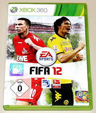 FIFA 12 - FÜR XBOX 360 - EA SPORTS FUSSBALL FOOTBALL SOCCER BUNDESLIGA 2012