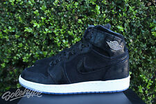 NIKE AIR JORDAN 1 RETRO HIGH GS SZ 6 Y BLACK WHITE GYM RED HEIRESS 832596 001