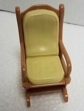 Loving Family Rocking Chair Dollhouse Living Room Nursery Rocker Fisher Price