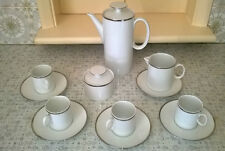 Thomas - Coffee Set,  Pot, Jug & Sugar Bowl 4 Cups 5 saucers