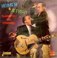 HOMER & JETHRO 'Slaughter The Standards' - 2CD Set on Jasmine