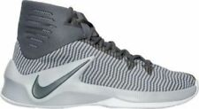Nike Zoom Clear Out Basketball Shoes 844370 002 Grey / Black - Men's Size 8.5