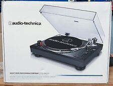NEW Audio Technica AT-LP120BK-USB Direct-Drive Professional Turntable Black
