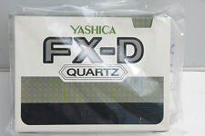 Yashica FX-D Cardboard Box Only - Outer Box Only 12251 - EMPTY BOX - USED E03D