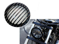 """CNC 5-3/4"""" Headlight Grill Cover 4 Harley Iron Sportster XL 883 1200 Softail 48"""