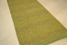 Strong Natural Seagrass rug 65x230cm. Quality Hand Made runner Beige Green