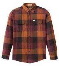 MATIX Betters Flannel Shirt (M) Burnt Orange