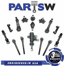 15Pc Suspension Kit Ball Joints Tie Rod End For Chevy C1500 Suburban Gmc K1500