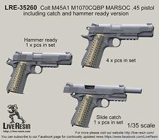 Live Resin 1/35 LRE-35260 Colt M45A1 M1070CQBP MARSOC .45 Pistol (1)